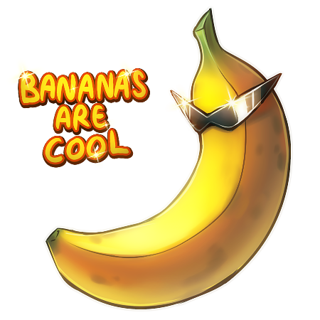 cool_banana_by_kawiko-d4o5ftz